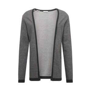 SELECTED HOMME Kardigan 'SLHNEWJEFF OPEN CARDIGAN W EX'  antracitová