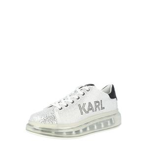 Karl Lagerfeld Tenisky 'KAPRI KUSHION'  stříbrná / černá / bílá