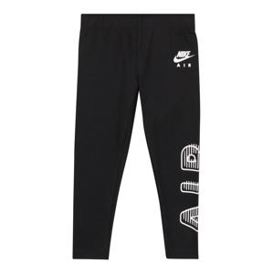 Nike Sportswear Legíny  černá / bílá