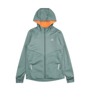 ADIDAS PERFORMANCE Sportovní bunda 'YB IW FZ'  pastelově zelená