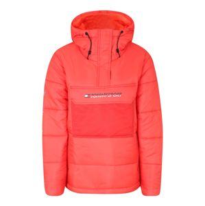 Tommy Sport Outdoorová bunda 'BLOCK INSULATION'  oranžově červená