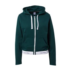 Calvin Klein Mikina s kapucí  zelená