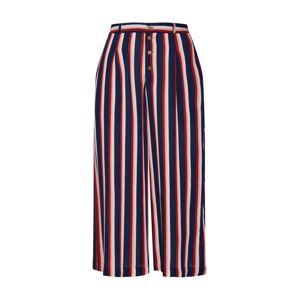 ELEMENT Kalhoty se sklady v pase 'Aluna'  námořnická modř / červená / bílá
