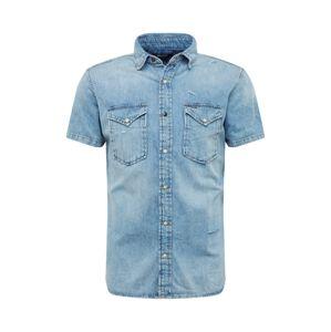 JACK & JONES Košile 'CLAYTON'  modrá džínovina