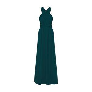 STAR NIGHT Společenské šaty 'long dress chiffon'  smaragdová