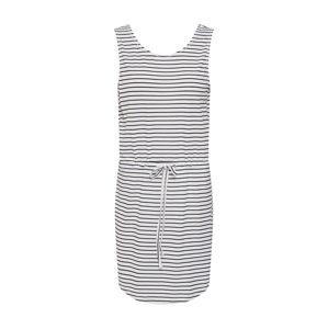 PIECES Plážové šaty 'BATISTA'  černá / bílá