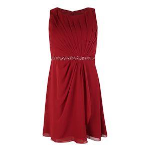 My Mascara Curves Společenské šaty  červená