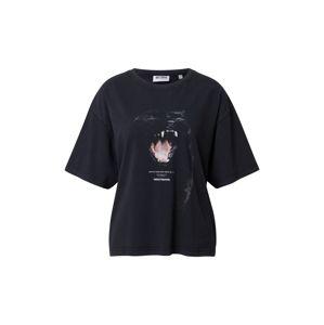 Worst Behavior Oversized tričko 'Savage'  černá